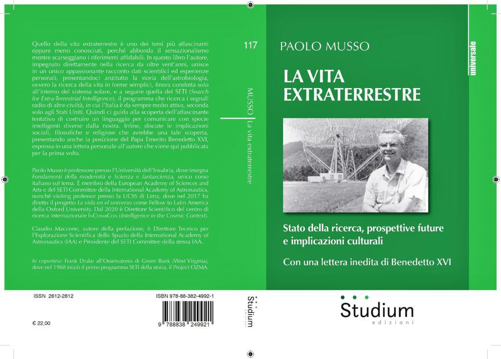 Vita extraterrestre - Libro copertina