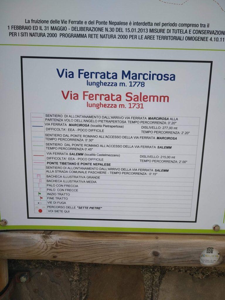 Dolomiti Lucane - Via ferrata