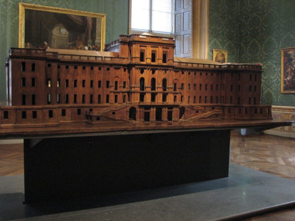 Castello di Rivoli - modello