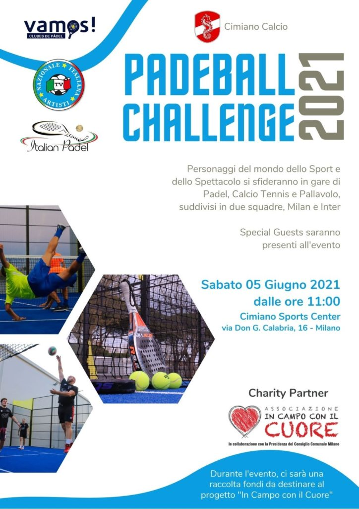 Padeball Challenge - locandina
