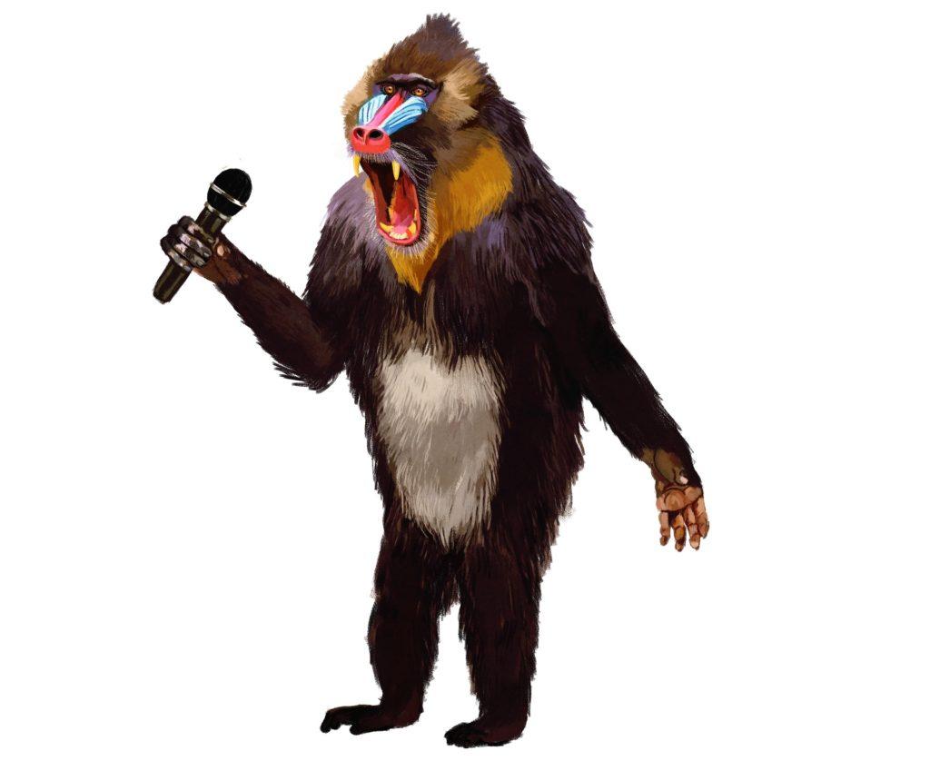 Monologo - Scimpanzè