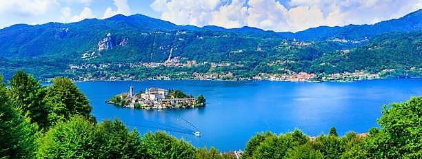 Lago d'Orta - panoramica