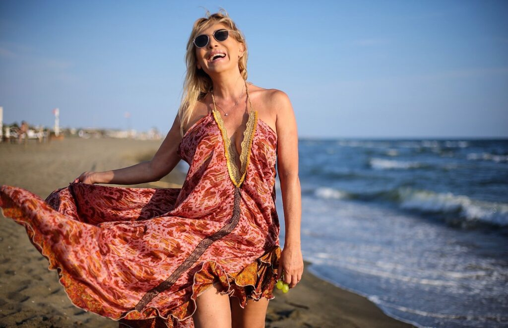 Maria Tona - in spiaggia
