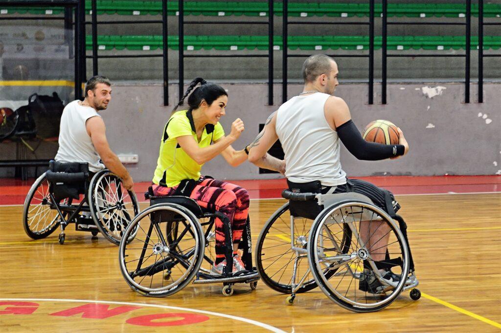 Disabile - Gara basket